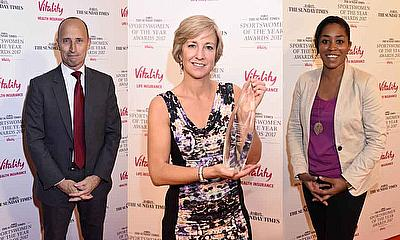 England Women Win Team - Vitality Team Of The Year At The Sunday Times Sportswomen of the Year Awards 2017