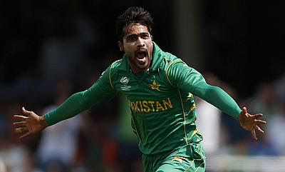 Mohammad Amir picked four wickets in the game