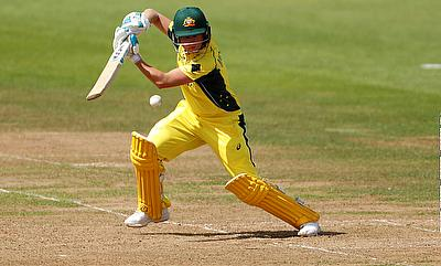 Beth Mooney scored 118 before retiring out