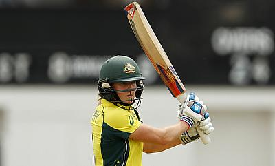Ellyse Perry showed a lot of determination
