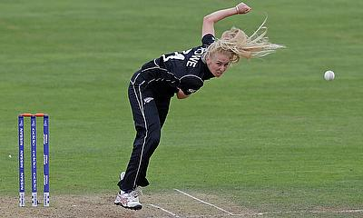 Hannah Rowe picked three wickets in the game