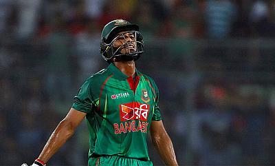 Mahmudullah scored a valiant half-century