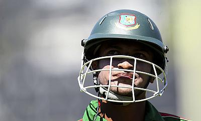 Shakib Al Hasan has been slammed with a fine of 50 percent of his match fee