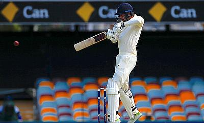 James Vince scored his maiden Test fifty in the opening day of the Brisbane Test