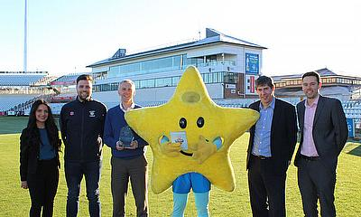 Durham CCC win Inspiring Fan Loyalty Prize at Business of Cricket Awards 2017