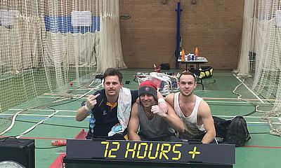 World Record 72 Hour Cricket Nets