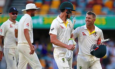 Cameron Bancroft and David Warner had an outstanding partnership on day four