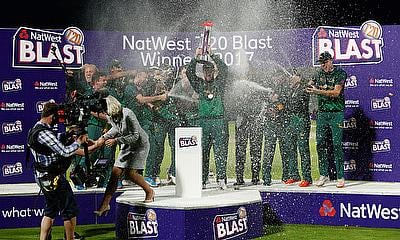 T20 Blast Local Derbies Handed Prime Dates