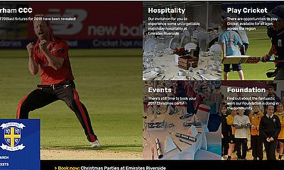 Durham County Cricket Club Launch Brand New Website