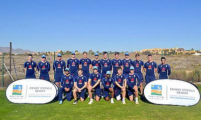ECB Young Lions complete successful 3-Day training camp at Desert Springs