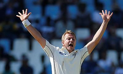 Neil Wagner registered third best figures for a New Zealand bowler