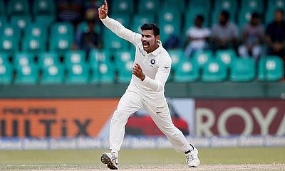 Ravindra Jadeja picked two wickets late in the day