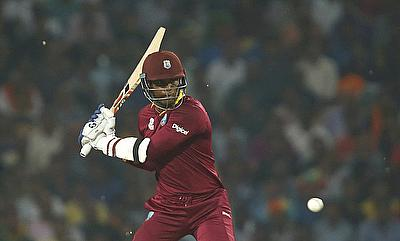 Marlon Samuels scored 55 off 43 deliveries