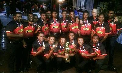 PNG finish undefeated after washout