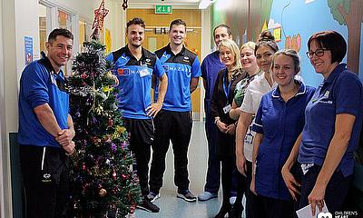 Yorkshire stars visit LGI Children's Heart Ward