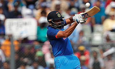 Rohit Sharma scored a 35-ball century