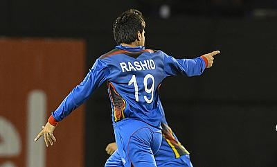 Rashid Khan picked two wickets in the game