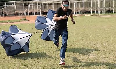 Parachute Drills with Chinmoy Roy