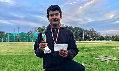 Malta Tape Ball Cricket League - Basil George (Batting Award - Super Kings)