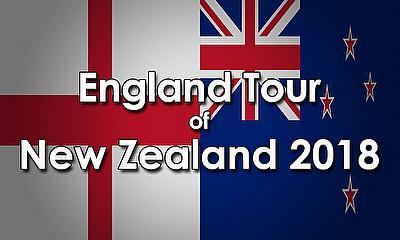 England tour of New Zealand 2018