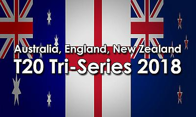 England, Australia, New Zealand T20I Tri-Series 2018