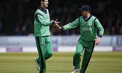 Ireland's George Dockrell celebrates