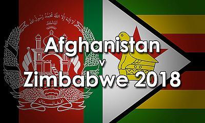 Afghanistan v Zimbabwe 2018