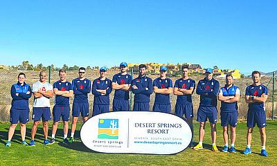 ECB Pace Programme complete successful 5-Day training camp at Desert Springs