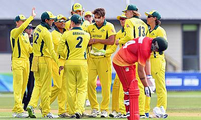 Australia Records Win Against Zimbabwe at Under 19 World Cup