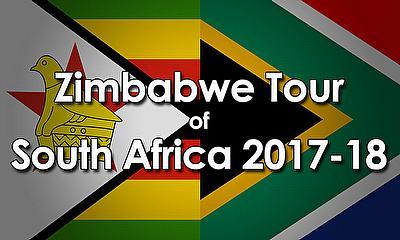 Zimbabwe tour of South Africa 2017-18