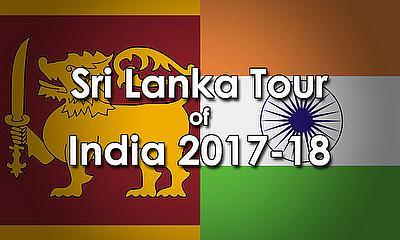 Sri Lanka tour of India 2017-18