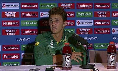 South Africa Captain on Quarter Final | ICC u19 World Cup 2018