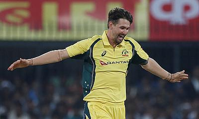 Kane Richardson picked four wickets in the game