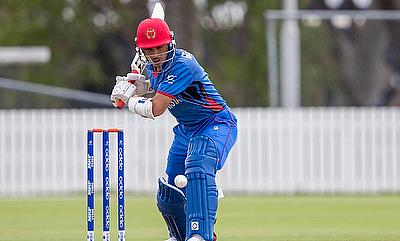 Rahmanullah scored 69 runs opening the batting for Afghanistan