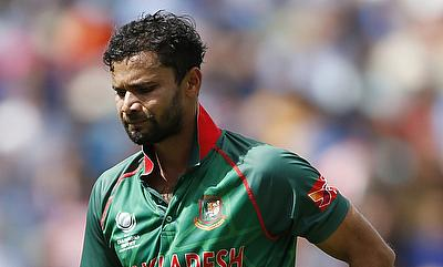 Mashrafe Mortaza has two demerit points against his name