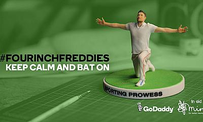 Freddie Flintoff displays his business prowess with the launch of FourInchFreddies.co.uk