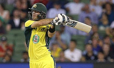 Glenn Maxwell scored a blistering 40 in the chase