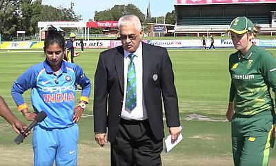 Women's South Africa v India 1st Innings
