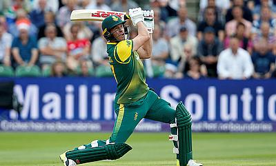 AB de Villiers missed the first three games of the series