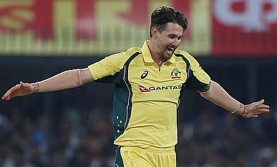 Kane Richardson picked three wickets for Australia