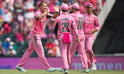 The pink jersey had a change of fortune for South Africa in Johannesburg