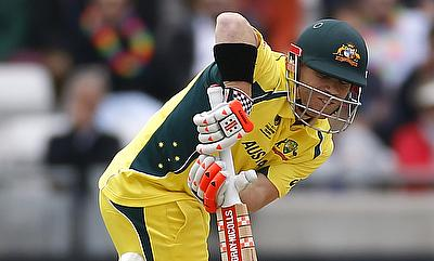 David Warner scored 54 runs off 29 deliveries in the chase