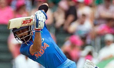 Virat Kohli scored at strike-rate of 134.38