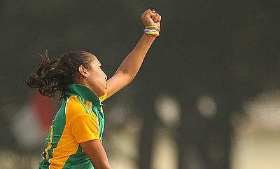 Shabnim Ismail impressed with a five-wicket haul