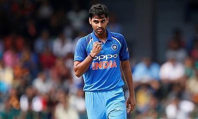 Bhuvneshwar Kumar picked a five-wicket haul