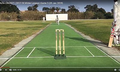 Malta Cricket 2017-18 Winter League - Game 5