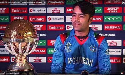 Afghanistan captain Rashid Khan looks ahead to the ICCWCQ