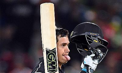 Ross Taylor slammed his 18th ODI century