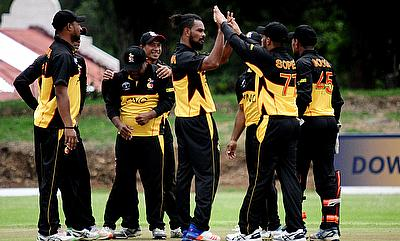 Papua New Guinea team in action