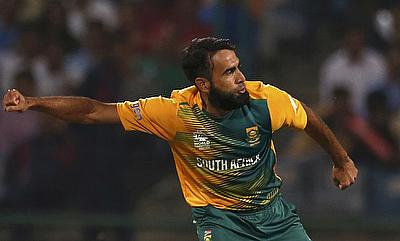 Imran Tahir claimed a hat-trick
